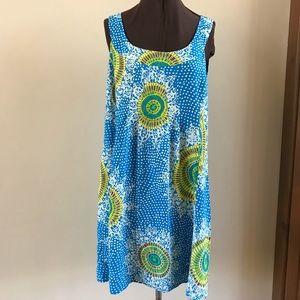 NANETTE LEPORE SLEEVELESS SHIFT DRESS